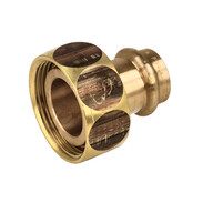 """Profipress gas connection screw fitting 22 x 1 3/8"""" 408237"""