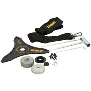 54V cordless brush cutter and grass trimmer