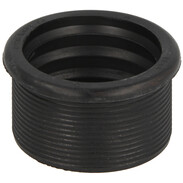 Rubber nipple for siphon pipes DN63/50 57 x 45 mm