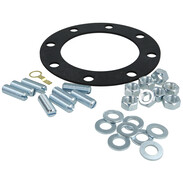 Set of gaskets for combi storage tank