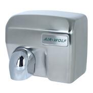 hot air hand dryer sensor, stainless steel, matt