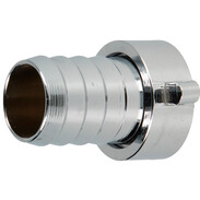 """Hose screw connection 3/4""""IT x 3/4"""" chrome-plated brass"""