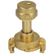 "Brass spray nozzle with quick coupling ""Siro"" heavy design 1/2"""