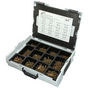Sortimo L-Boxx fitted with Torx countersunk universal screws