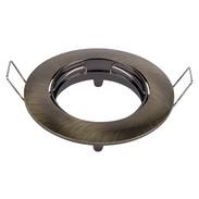 Mounting ring brass brushed green
