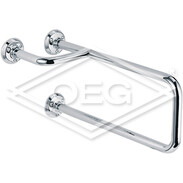 Forte grab rail 518 mm, right chrome-plated brass