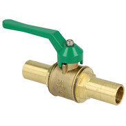 Ball valve DN 32 - 35/28 e/i with press and plug-in connection