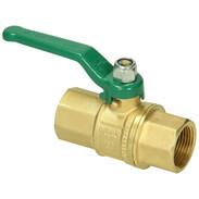 """Ball valve shiny DN 32 1 1/4"""" IT x 1 1/4"""" IT"""