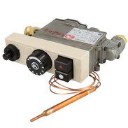 Conversion kit for gas control units