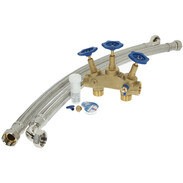 Connection set water softening systems type Hanseat