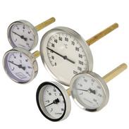 Bi-metal dial thermometer