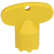 Neoperl® Service key TT yellow fits for Caché M 16.5 x 1 09915046