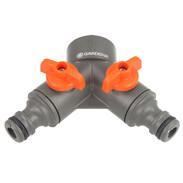 Gardena 2-way valve G3/4