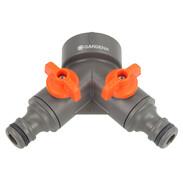 Gardena 2-way valve G1