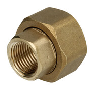 "Outlet screw joint for branch valve, 1/2"" IT x 1"" IT"