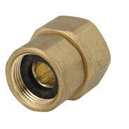 "Outlet screw joint for branch valve, 18 mm solder x 1"" IT"