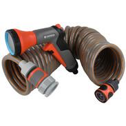 Gardena spiral hose set
