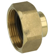"""Outlet screw joint for branch valve 18 mm solder x 1 1/4""""  IT"""