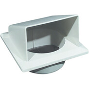 Sanclean extractor hood with reduction to Ø 50mm