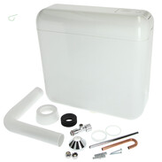 Pagette Ecotop cistern white 6 - 9 litres