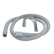 "Plastic hose for washing machines 3/4"" 1,500 mm"