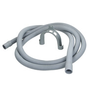 "Plastic drain hose for washing machines 3/4"" 2,500 mm"