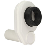 Suction siphon white  for 50 mm pipes