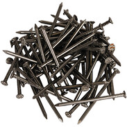Wire nails DIN 1151 countersunk head 2.5 x 55 mm shiny steel