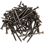 Wire nails DIN 1151 countersunk head 3.8 x 100 mm shiny steel
