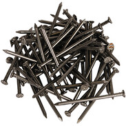 Wire nails DIN 1151 countersunk head 5.5 x 160 mm shiny steel
