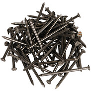 Wire nails DIN 1151 countersunk head 6.0 x 180 mm shiny steel