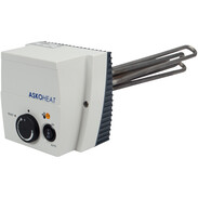 Screw-in immersion heaters with contactor
