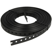 Punched mounting tape plastic-coated Ø 6.5 mm x 19 mm