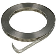 Endless clamp band W 2 without housing width: 9 mm, length 5 m