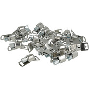 Locks for endless clamp band W2 9 mm