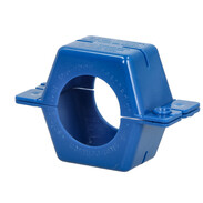 """Seal clamp 3/4"""" plastic, blue complete"""