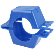 """Seal clamp 1"""" plastic, blue complete"""