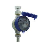 """Contatore rubinetto con tassa di verifica Q3 2,5 m³/h - G 3/4"""" - 110 mm"""