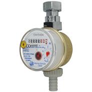 """Contatore rubinetto ZAK con tassa di verifica Qn 1,5 m³/h - G 3/4"""" - 80 mm"""