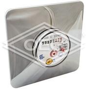 "Apartment meter single-jet 2.5 m³/h rosette 3/4"" calibration fee incl."