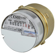 """EAS modular encapsulated meter type IE cold, type Ista 2"""", incl. calibration"""