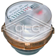 EAS modular encapsulated meter type MT cold, Metrona/Brunata M64x2, incl. fee