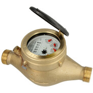 Multi-jet domestic water meter 4,0 m³ including calibration fee
