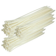 Cable ties hardly inflammable