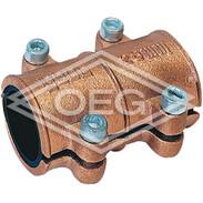 Brass sealing clamp 12 mm