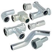 Press fittings C-steel Contour M