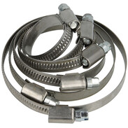 Wormdrive hose clamps W4