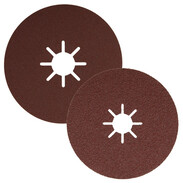 Abrasive discs with 22 mm star hole