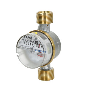 Apartment water meter single-jet 2,5 m³ including calibration fee