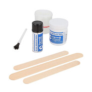 Fermit C,kit di ricambio x sigillatura d'urgenza, con sigillante bicomponente